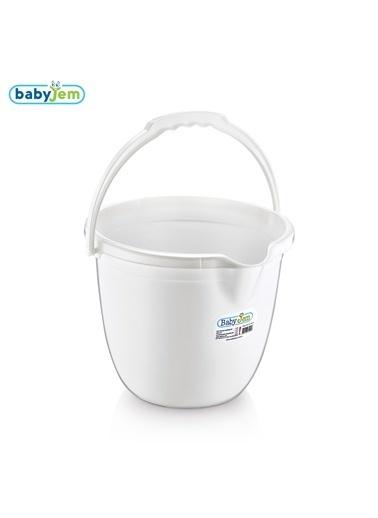 Baby Jem Babyjem Bebek Banyo Kovası  Beyaz